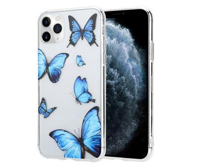 ShieldCase® ShieldCase Give Me Butterflies iPhone 12 Pro - 6.1 inch hoesje