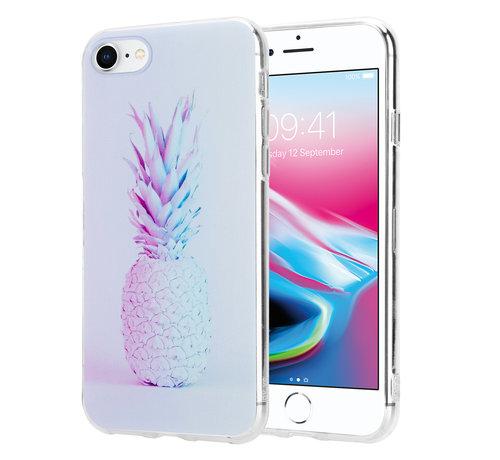 ShieldCase® ShieldCase hoesje met ananas print Hoesje met ananas print iPhone 7 / 8