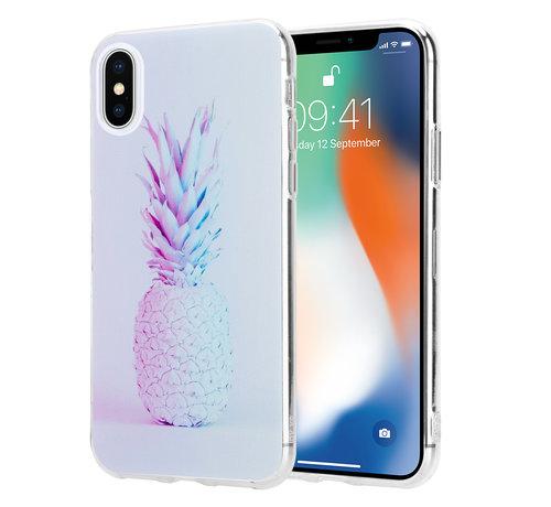 ShieldCase® ShieldCase Pina To My Colada iPhone  X / Xs hoesje