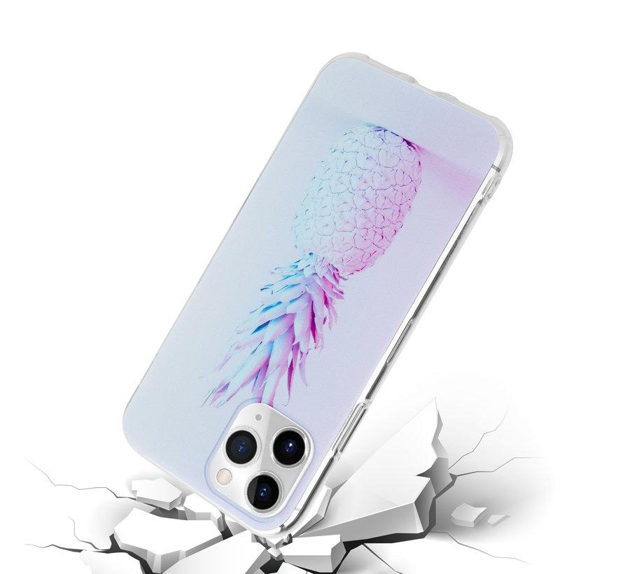 ShieldCase hoesje met ananas print iPhone 12 Pro Max