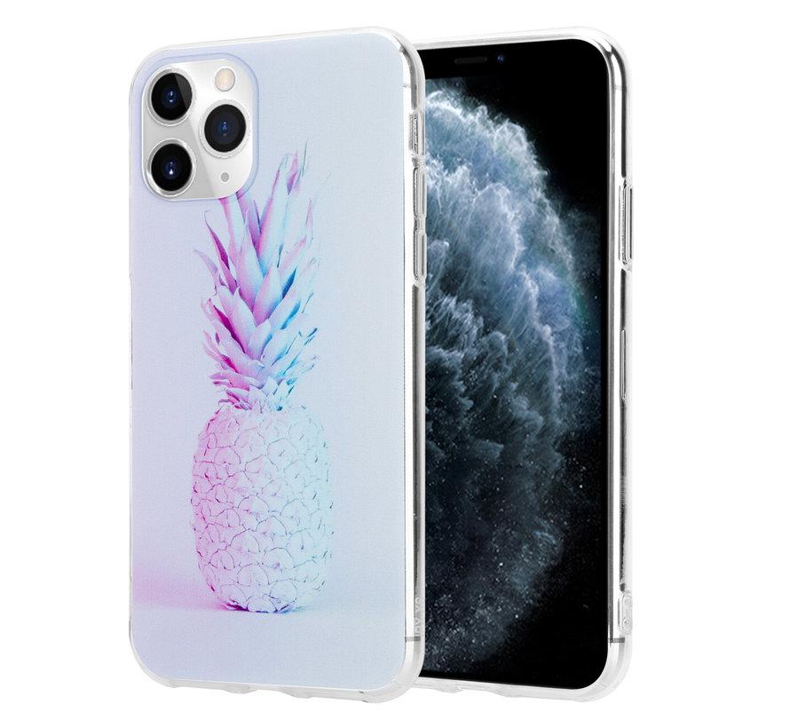 ShieldCase hoesje met ananas print iPhone 12 Pro - 6.1 inch
