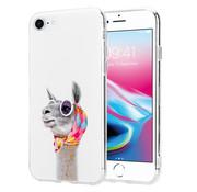 ShieldCase® No Drama Lama iPhone 7 / 8 hoesje