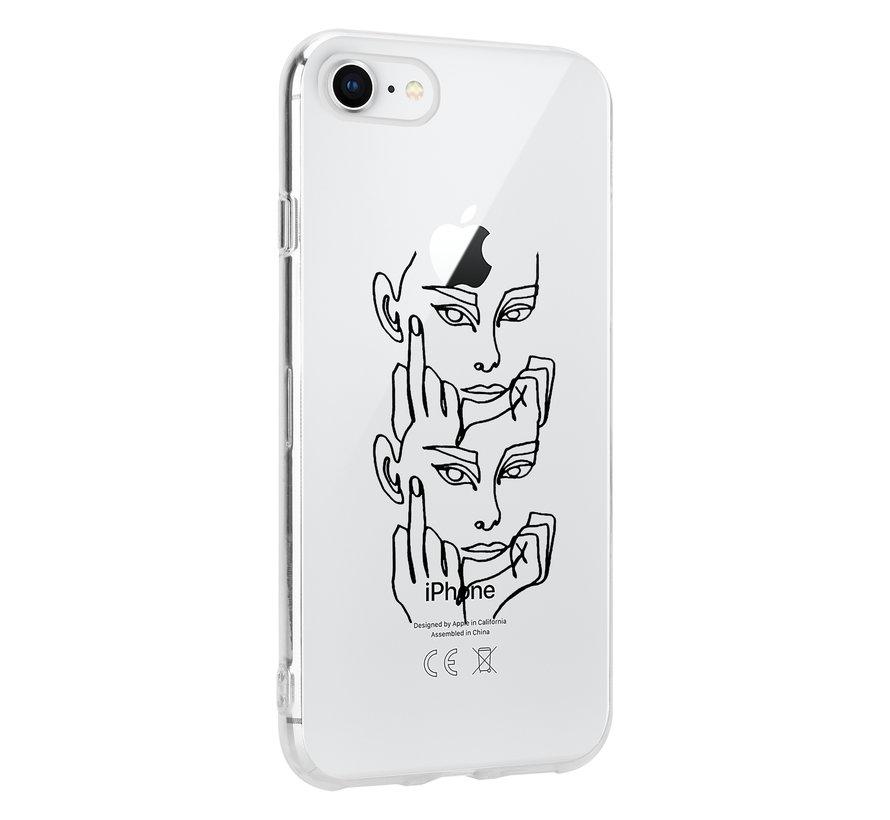 ShieldCase Forever Mood iPhone SE 2020 hoesje