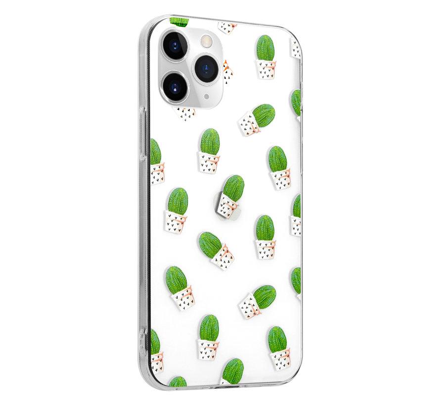 ShieldCase Cute Cactus iPhone 12 Pro - 6.1 inch hoesje