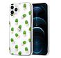 ShieldCase iPhone 12 Pro Max hoesje met cactuspatroon