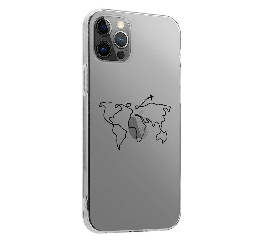 ShieldCase Wanderlust iPhone 12 Pro Max hoesje (transparant)