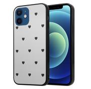 ShieldCase® Love A Little iPhone 12 Mini - 5.4 inch spiegel hoesje
