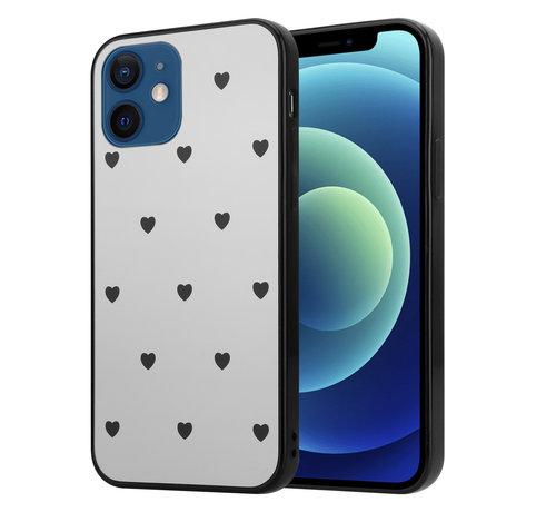 ShieldCase® ShieldCase Love A Little iPhone 12 Mini - 5.4 inch spiegel hoesje