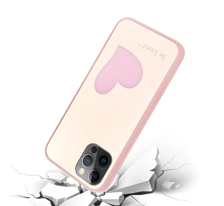ShieldCase Be Loved Mirror iPhone 12 Pro - 6.1 inch hoesje