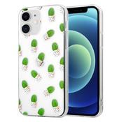 ShieldCase® iPhone 12 Mini - 5.4 inch hoesje met cactuspatroon