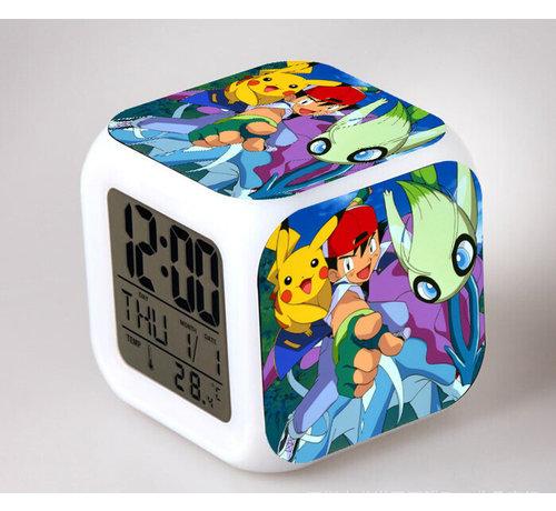 Alarm wekker met Pokémon print