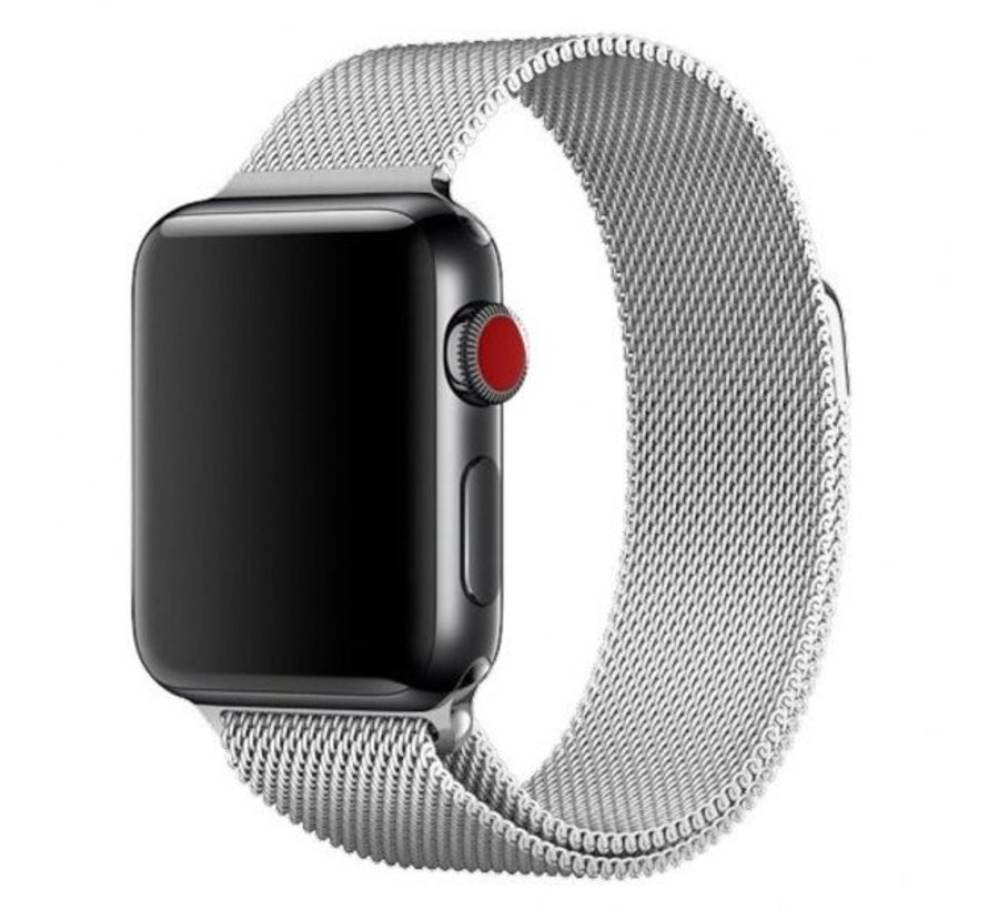Apple Watch milanese  band (zilver)