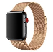 Apple Watch milanese band (rosé goud)