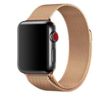 Apple Watch milanese band (rosé goud)