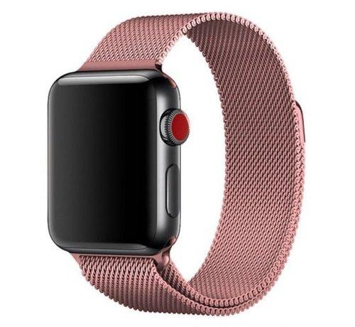 Apple Watch milanese  band (roze)