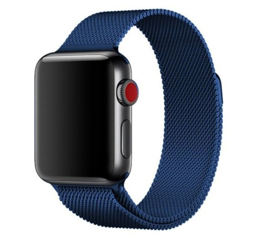 Apple Watch Milanese band (blauw)