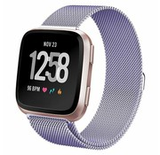 Fitbit Versa Milanese band (paars)