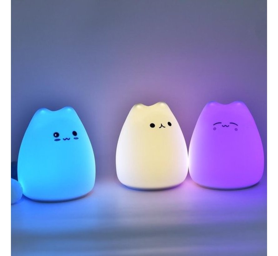 Little kitten nachtlampje voor kinderen