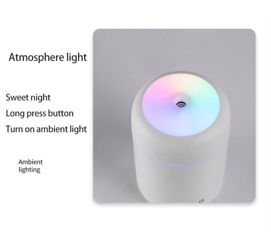 Luchtbevochtiger / Aroma diffuser / Aroma therapie 300 ml