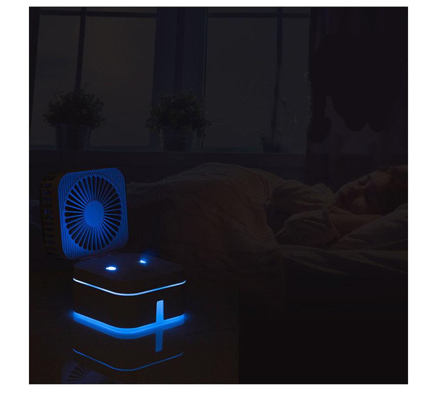 Luchtbevochtiger met ventilator