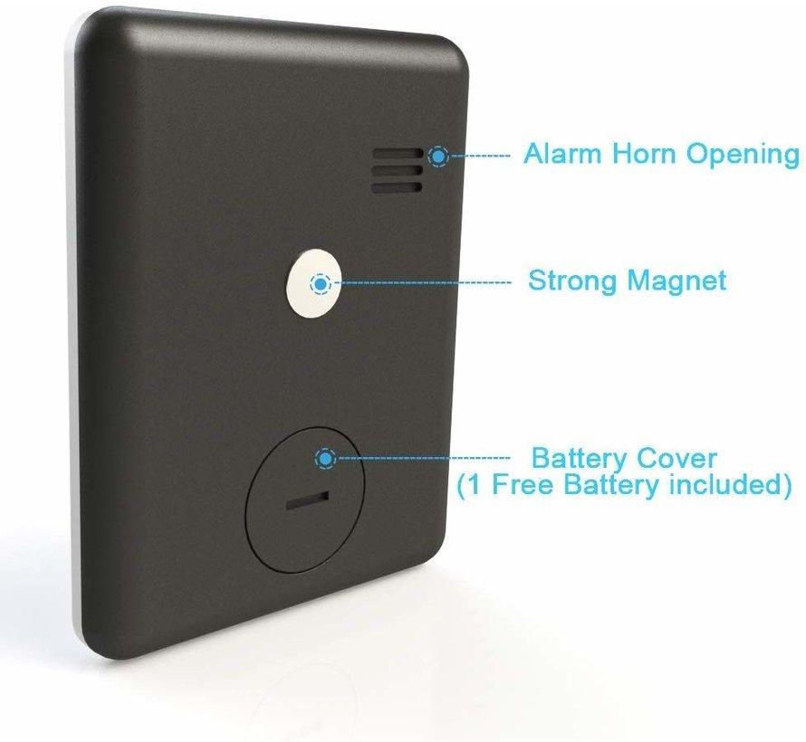 Magnetisch digitale kookwekker / zwart / inclusief batterij