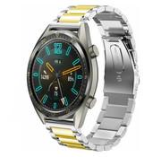 Huawei Watch GT stalen bandje (zilver/goud)