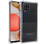 ShieldCase® Samsung Galaxy A42 5G shock case (transparant)