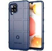 ShieldCase® Samsung Galaxy A42 5G schokbestendig hoesje Rugged Shield (blauw)
