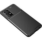 ShieldCase® Samsung Galaxy A72 carbon hoesje (zwart)