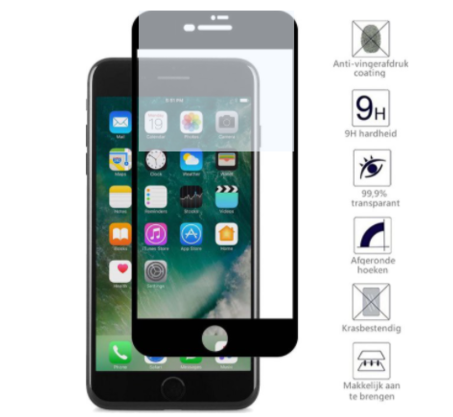ShieldCase 3D full cover screen protector iPhone SE 2020