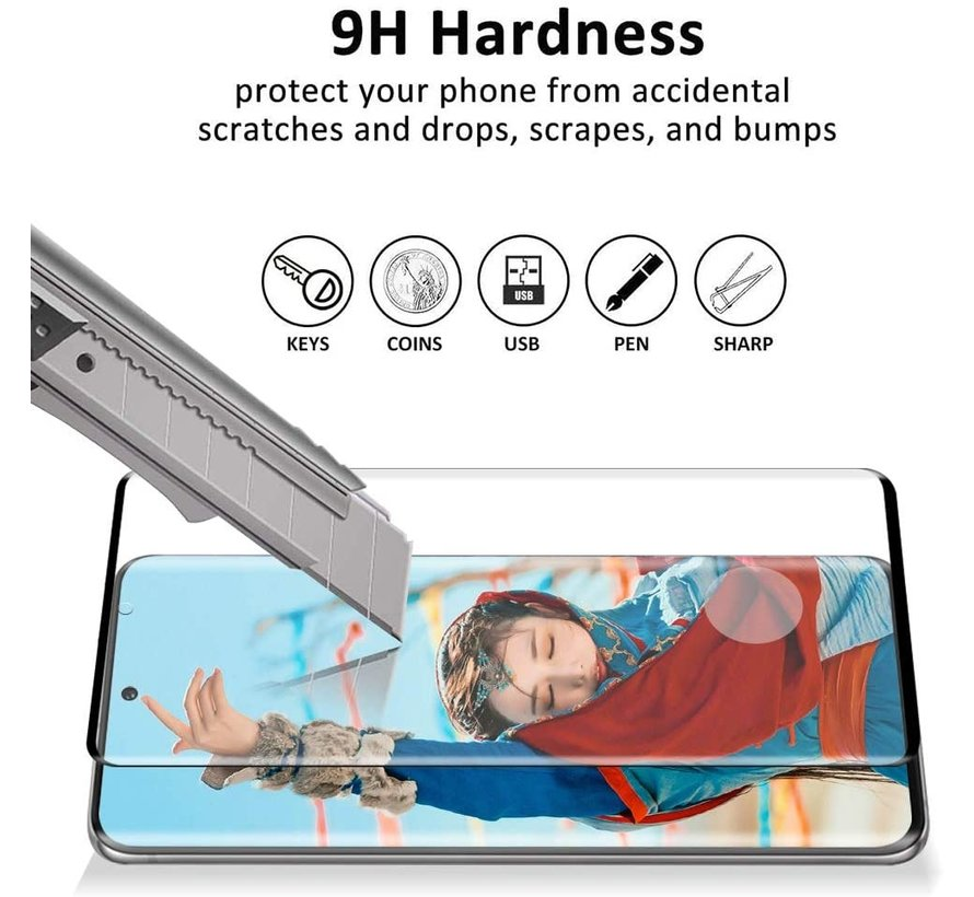 ShieldCase 3D full cover screen protector Samsung Galaxy S20 Ultra