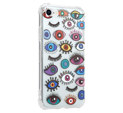 ShieldCase® ShieldCase Got My Eyes On YouiPhone SE 2020 hoesje