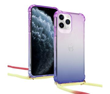 ShieldCase® Rainbow  iPhone 11 pro hoesje met koord