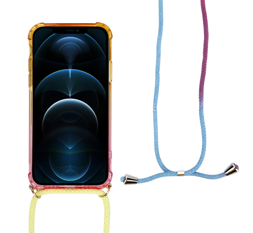ShieldCase Sunset iPhone 12 Pro Max 6.7 inch hoesje met koord