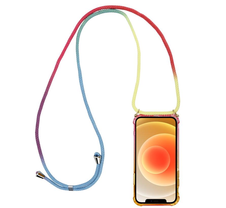 ShieldCase Sunset iPhone 12 - 6.1 inch hoesje met koord