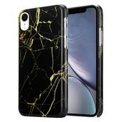 ShieldCase® Amazing Black Marmer iPhone Xr hoesje (zwart)