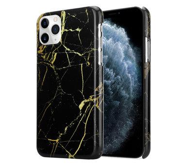 ShieldCase® ShieldCase Amazing Black Marmer iPhone 11 Pro Max hoesje (zwart)