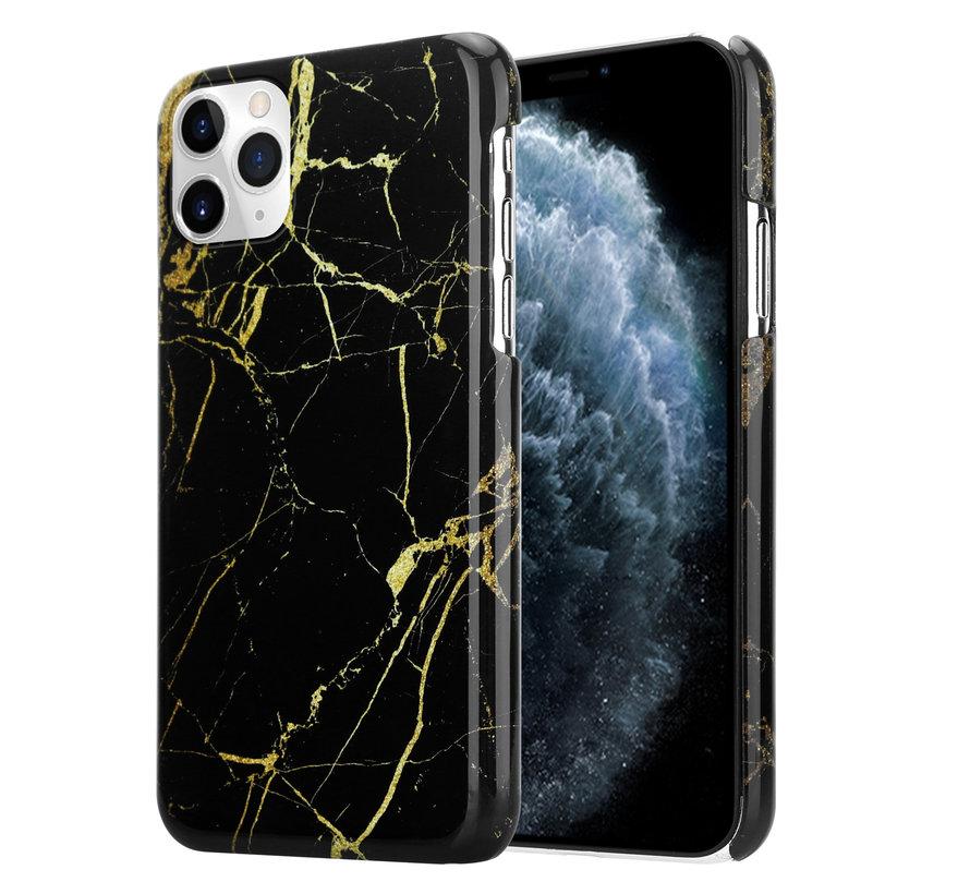 ShieldCase Amazing Black Marmer iPhone 11 Pro Max hoesje (zwart)