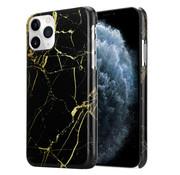 ShieldCase® Amazing Black Marmer iPhone 12 Pro- 6.1 inch hoesje (zwart)