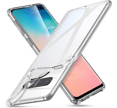 ShieldCase® ShieldCase dun doorzichtig siliconen hoesje Samsung Galaxy S10 Plus