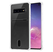ShieldCase® Samsung Galaxy S10 Plus Shock case met pashouder