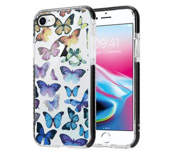 ShieldCase® Rainbow Butterflies iPhone 7 / 8 hoesje