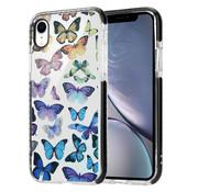 ShieldCase® Rainbow Butterflies iPhone Xr hoesje