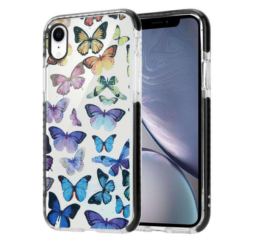 ShieldCase Rainbow Butterflies iPhone Xr hoesje