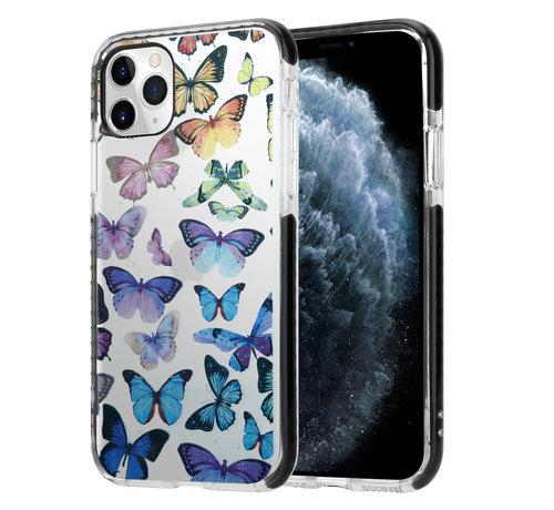 ShieldCase® ShieldCase Rainbow Butterflies iPhone 11 Pro Max hoesje