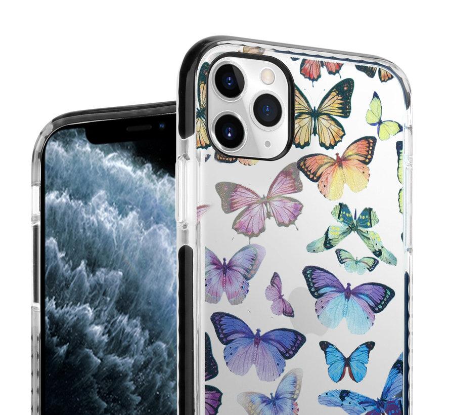 ShieldCase Rainbow Butterflies iPhone 11 Pro Max hoesje