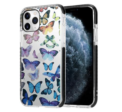 ShieldCase® ShieldCase Rainbow Butterflies iPhone 11 Pro hoesje