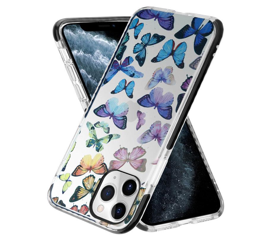 ShieldCase Rainbow Butterflies iPhone 11 Pro hoesje