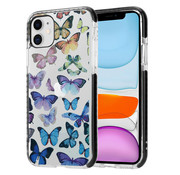 ShieldCase® Rainbow Butterflies iPhone 11 hoesje