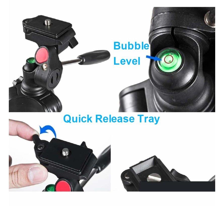 Fotopro DIGI-3400 PRO professionele tripod met bluetooth afstandsbediening